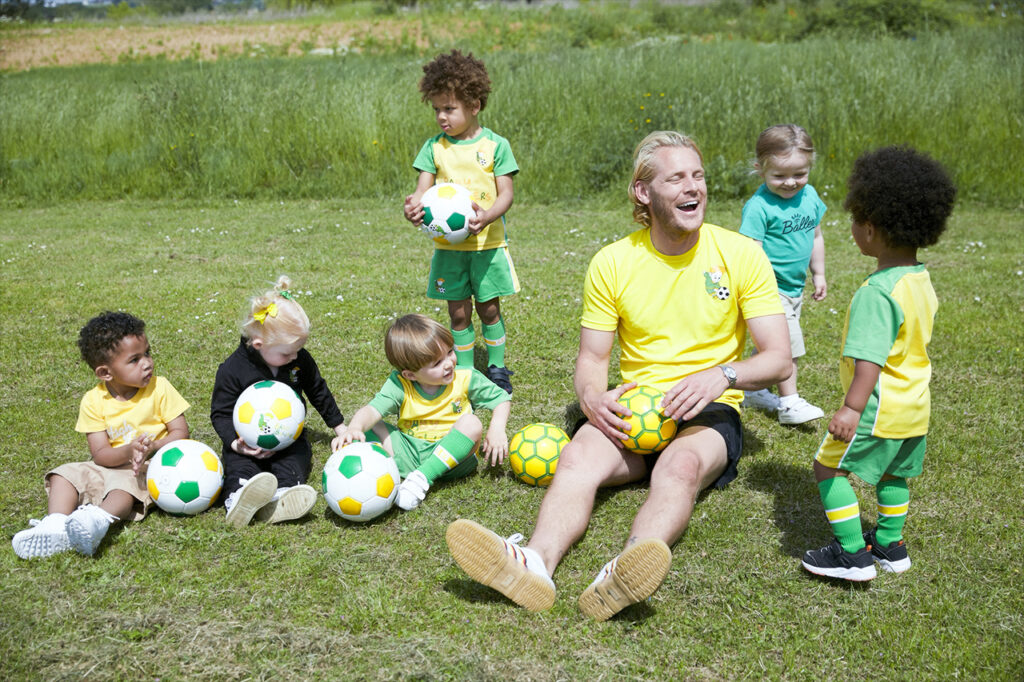 Baby ballers owning a football franchise UK
